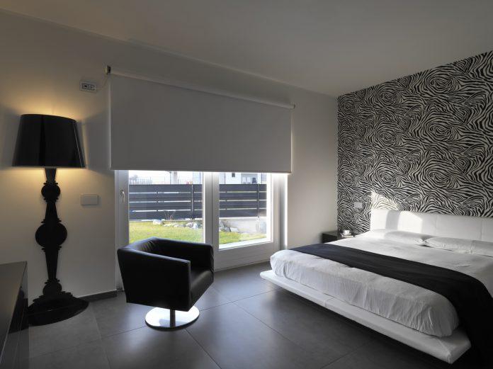 Rolgordijnen slaapkamer