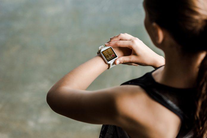 smartwatch met sporten